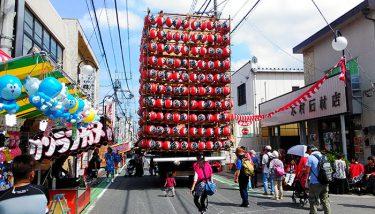 関東一の提灯祭り「久喜 提燈祭り」7/12・7/18開催!