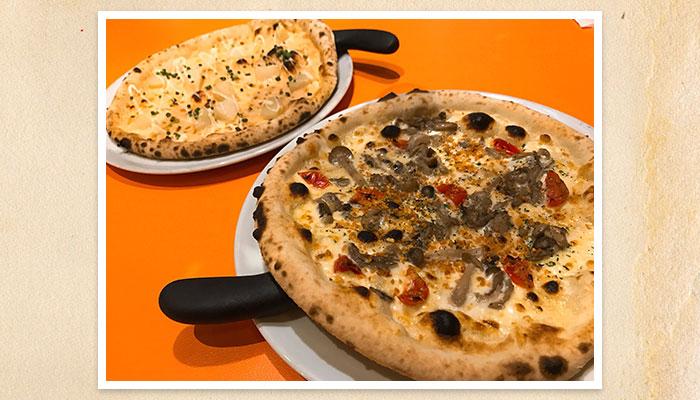 久喜 イタリアン ベルパロッソ ピザ