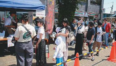 """【久喜市】久喜青年会議所が初の試み まち興し""""肉汁祭""""大成功"""