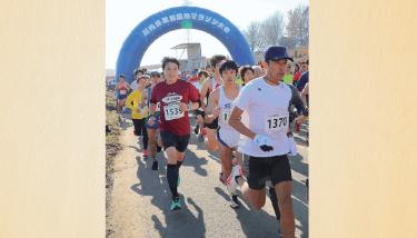 【久喜市】久喜栗橋マラソン 年末レースに約1000人参加